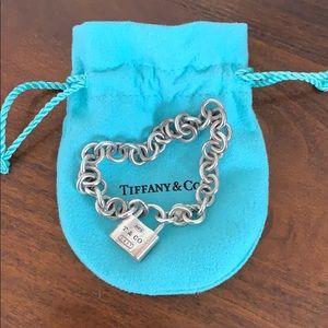 Tiffany & Co. lock bracelet